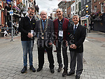 Mayor of Drogheda Frank Godfrey with visitors Tolga Salman and Kagan Korod from Turkey and Cemal Sanga Consulate from the Turkish Embassy. Photo:Colin Bell/pressphotos.ie