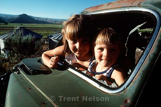Misty and Caleb Ovard at their grandparents' ranch in Henefer, UT.   &amp;#xA;<br />