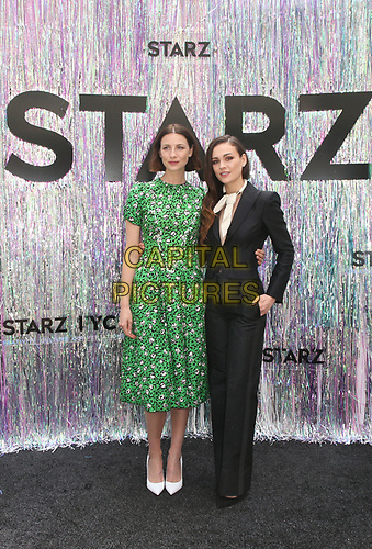 CENTURY CITY, CA - June 2: Caitriona Balfe, Sophie Skelton, at Starz FYC 2019 — Where Creativity, Culture and Conversations Collide at The Atrium At Westfield Century City in Century City, California on June 2, 2019. <br /> CAP/MPIFS<br /> ©MPIFS/Capital Pictures