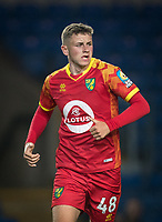 Reece McAlear of Norwich City U21 during the The Leasing.com Trophy match between Oxford United and Norwich City U21 at the Kassam Stadium, Oxford, England on 3 September 2019. Photo by Andy Rowland.