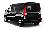 Car pictures of rear three quarter view of a 2018 Ram Promaster City SLT Wagon 5 Door Mini Van angular rear