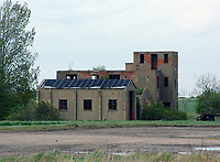 BNPS.co.uk (01202 558833)<br /> Pic: MilitaryAviationMuseum/BNPS<br /> <br /> Basket case - the neglected control tower before an American museum removed it brick by brick to the USA starting in 2017.<br /> <br /> A historic World War Two airfield control tower which helped protect Britain's skies has been transported 4,000 miles to a museum in the United States.<br /> <br /> The monument at RAF Goxhill in North Lincolnshire was dismantled brick by brick before the materials were shipped across the Atlantic to the Military Aviation Museum in Pungo, Virginia.<br /> <br /> The watchtower has been reassembled to look how it would have seven decades ago and is now open to visitors.<br /> <br /> Goxhill was the first airfield to be allocated to the Americans during the conflict, with General D. Eisenhower attending the handover ceremony in August 1942.<br /> <br /> The three year project to relocate the structure, which has cost about £75,000, was overseen by the museum's owner Jerry Yagen. When he heard the watchtower was languishing in a derelict state on the site of the former British airfield, he decided to save it to 'preserve its legacy'.