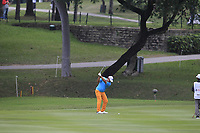 Angelo Que (PHI) on the 17th fairway during Round 3 of the UBS Hong Kong Open, at Hong Kong golf club, Fanling, Hong Kong. 25/11/2017<br /> Picture: Golffile | Thos Caffrey<br /> <br /> <br /> All photo usage must carry mandatory copyright credit     (© Golffile | Thos Caffrey)