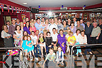 Eileen O'Shea 5th from right with her husband Patrick, family and friends celebrated her 60th Birthday in Pulse on Monday night.