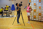 Catalunya vs Montenegro.<br /> Media Day.<br /> Helena Oma.