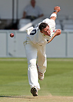 Andre Nel in bowling action for Essex during Essex CCC vs Middlesex CCC, LV County Championship at the Ford County Ground, Chelmsford, Essex. Nel has been appointed as Assistant Head Coach of Essex CCC on 11th March 2019.