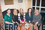 Tralee ladies enjoying the athmosphere at 'An Shebeen' bar, lower Rock St, Tralee last Sunday night at the official opening under new management, l-r: Caroline, Karena, Grace, Shelia and Marilyn Bulman.
