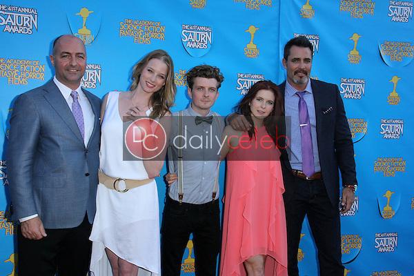 Continuum cast<br /> at the 41st Annual Saturn Awards, The Castaway, Burbank, CA 06-25-15<br /> David Edwards/Dailyceleb.com 818-249-4998