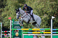NZL-James Avery rides Aloha during the Showjumping for the House of Waterford Crystal CCI3*-S. 2019 IRL-Sema Lease Camphire International Horse Trials. Cappoquin. Co. Waterford. Ireland. Saturday 27 July. Copyright Photo: Libby Law Photography