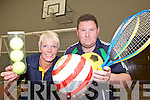 FUN TIME: Maggie Large and Brendan Hogan who will be hosting a series of fun summer camps for children at a number of north Kerry venues over the summer.