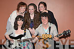 ENTERTAINING: Hoping to raise mony for the group for Kenya at the KDYS Tralee on Friday night. Front l-r: Michelle Williams and John O'Donnell.Back l-rt: Katelyn Galvin, Julianne O'Leary and Emmie Hall........