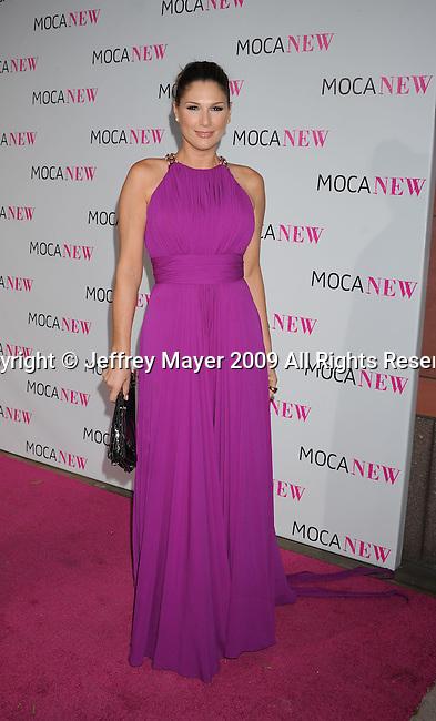 LOS ANGELES, CA. - November 14: Daisy Fuentes arrives at the MOCA NEW 30th anniversary gala held at MOCA on November 14, 2009 in Los Angeles, California.