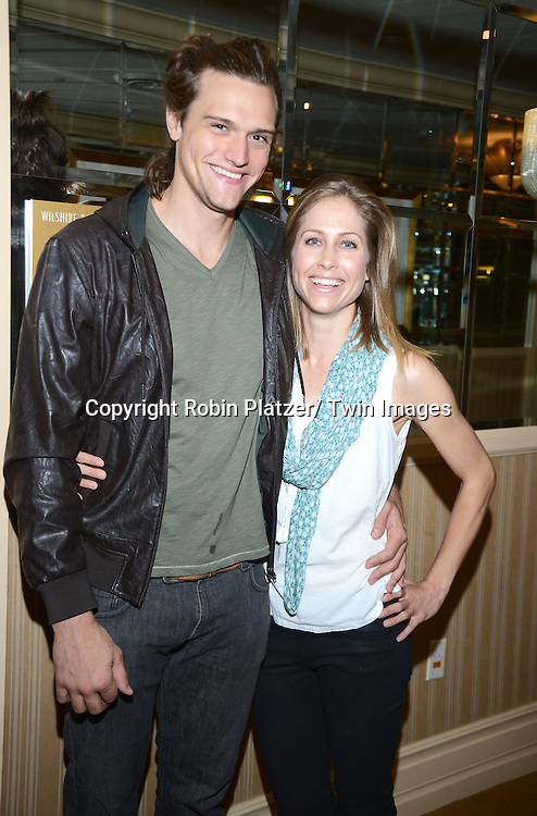 Hartley Sawyer and Bettina Olivieri attends the Gifting Suite for the Daytime Emmy Awards by Off The Wall Productions on June 16, 2013 at the Beverly Hilton  in Beverly Hills, California.