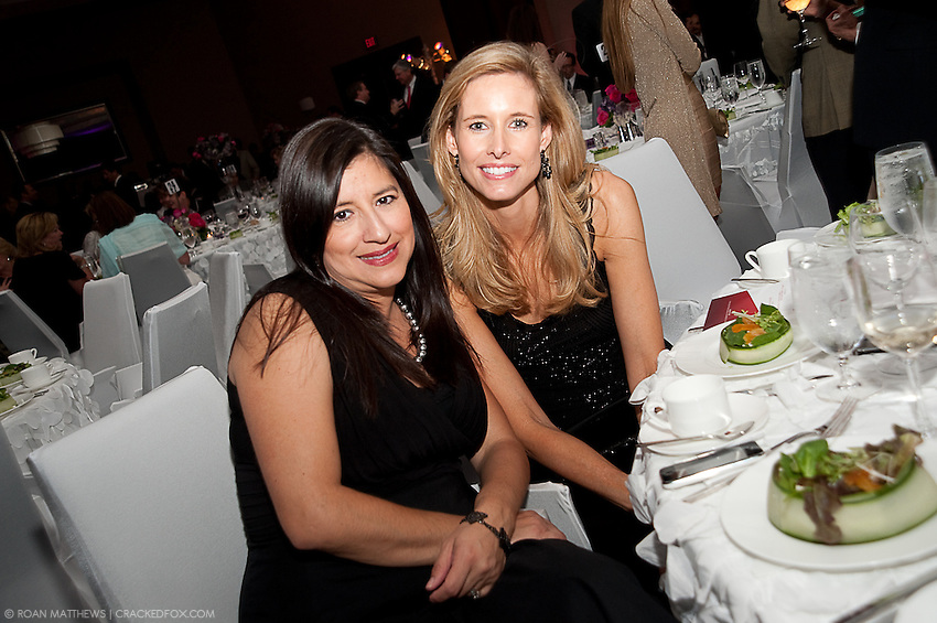Gracie Dastmalchian and Tricia Ayers at the Houston Area Women's Center 2011 Gala with Joan Rivers