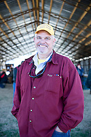 Seaboard auction organizer and BBQ extraordinaire, David Burke.