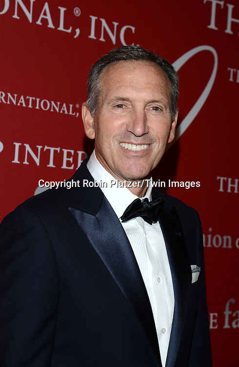 Howard Shultz  attend the 31st Annual Night of Stars &quot;The Protagonists&quot;<br /> presented by The Fashion Grouip International on October 23, 2014 at Cipriani Wall Street in New York City. <br /> <br /> photo by Robin Platzer/Twin Images<br />  <br /> phone number 212-935-0770