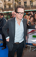 November 19 2017 PARIS FRANCE Arrival of Actor Hugh Grant at the Premiere of Paddington 2 at Olympia on Boulevard des Capucines Paris.