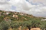 Israel, Upper Galilee. The Druze Village Yarka