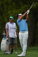 Danny Lee (NZL) on the 14th tee during the final round at the PGA Championship 2019, Beth Page Black, New York, USA. 20/05/2019.<br /> Picture Fran Caffrey / Golffile.ie<br /> <br /> All photo usage must carry mandatory copyright credit (© Golffile | Fran Caffrey)
