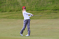 Michelle Forsland (NOR) on the 1st fairway during Round 2 of the Women's Amateur Championship at Royal County Down Golf Club in Newcastle Co. Down on Wednesday 12th June 2019.<br /> Picture:  Thos Caffrey / www.golffile.ie