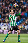 Ruben Pardo Gutierrez of Real Betis in action during their La Liga match between Real Madrid and Real Betis at the Santiago Bernabeu Stadium on 12 March 2017 in Madrid, Spain. Photo by Diego Gonzalez Souto / Power Sport Images