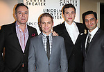 Sean Cullen, Vayu O'Donnell, Karl Glusman & Dion Mucciacito attending the Broadway Opening Night After Party for The Lincoln Center Theater Production of 'Golden Boy' at the Millennium Broadway in New York City on December 6, 2012