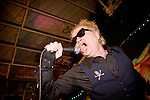 The Billy Bones performs at 924 Gilman Street, Berkeley, CA.