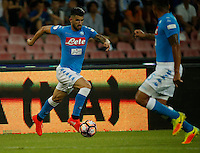 Elseid Hysaj  during the friendly soccer match,between SSC Napoli and Onc Nice      at  the San  Paolo   stadium in Naples  Italy , August 02, 2016<br />  during the friendly soccer match,between SSC Napoli and Onc Nice      at  the San  Paolo   stadium in Naples  Italy , August 02, 2016
