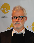 Opening Act proudly presents a play reading to benefit theater in NYC schools as John Slattery stars in the quirky comedy Hate Mail on December 6, 2010 at New World Stages, New York City, New York. (Photo by Sue Cofllin/Max Photos)