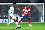 Yan Brice of Granada CF during La Liga match between Atletico de Madrid and Granada CF at Wanda Metropolitano Stadium in Madrid, Spain. February 08, 2020. (ALTERPHOTOS/A. Perez Meca)