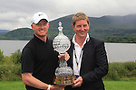 Simon Dyson (ENG) wins the tournament after the Final Day Sunday round of The Irish Open presented by Discover Ireland at Killarney Golf & Fishing Club on 31st July 2011 (Photo Fran Caffrey/www.golffile.ie)