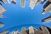 Cloud Gate Chicago.  Anish Kapoor's 110 ton chrome sculpture in Millennium Park.