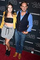 Josh Lucas mit Jessica Ciencin Henriquez bei der Premiere des Kinofilms 'The Glass Castle / Schloss aus Glas' im SVA Theater. New York, 09.08.2017