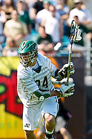 February 20, 2011:  Jacksonville Dolphins midfielder Bobby Stockton (24) during  Lacrosse action between the Georgetown Hoyas and Jacksonville Dolphins during the Moe's Southwest SunShine Classic played at EverBank Field in Jacksonville, Florida.  Georgetown defeated Jacksonville 14-11.