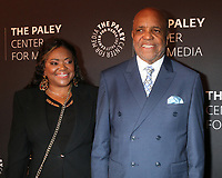 "LOS ANGELES - OCT 25:  Daughter Sherry Gordy, Berry Gordy at ""The Paley Honors: A Gala Tribute to Music on Television"" at the Beverly Wilshire Hotel on October 25, 2018 in Beverly Hills, CA"