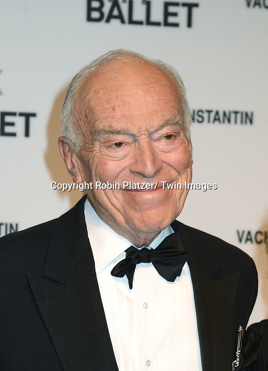 Leonard Lauder attends the New York City Ballet Spring 2014 Gala on May 8, 2014 at David Koch Theatre in Lincoln Center in New York City, NY, USA.