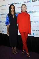 www.acepixs.com<br /> May 4, 2017  New York City<br /> <br /> Zoe Saldana and Jaime King attending the kick off event for  Moms + SocialGood Global Moms Relay campaign founded by Johnson &amp; Johnson and United Nations Foundation to improve the wellbeing of families around the world on May 4, 2017 in New York City.<br /> <br /> Credit: Kristin Callahan/ACE Pictures<br /> <br /> <br /> Tel: 646 769 0430<br /> Email: info@acepixs.com