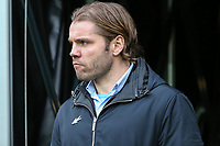 Robbie Neilson (Manager)  of MK Dons during the Sky Bet League 1 match between MK Dons and AFC Wimbledon at stadium:mk, Milton Keynes, England on 13 January 2018. Photo by David Horn.