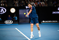 during Day Five of the Australian Open Tennis Championships held in Melbourne Park, Australia on 20th January 2017