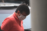 """RJ. Rio de Janeiro. 14/05/2020  LAVA JATO OPERAÇÃO FAVORITA Policia Federal em operação Lava-Jato nomeada de """"Favorita"""" prende Cassiano Luiz da Silva em suspeita de fraude em hospitais de Campanha em plena pandemia nesta quinta-feira (14). Sede da Policia Federal, zoba portuária.  ( Foto: Ellan Lustosa / Codigo19)"""