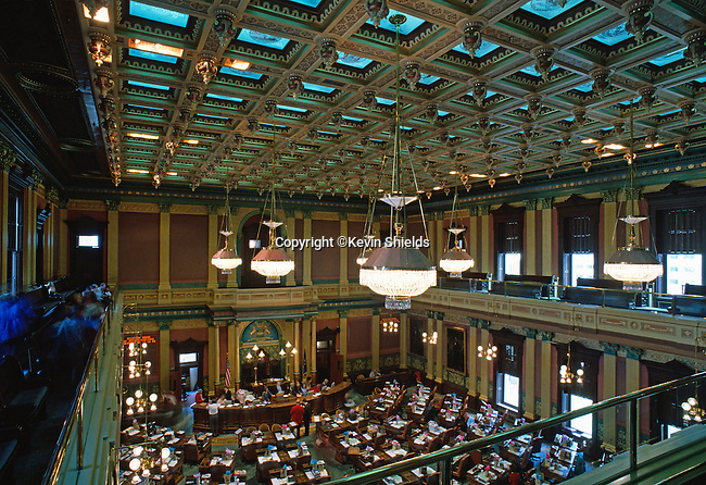 House of Representatives, Michigan State Capitol, Lansing, Michigan, USA