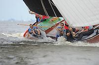 ZEILEN: WOUDSEND: Hegemer Mar, 28-07-2014, SKS skûtsjesilen, ©Martin de Jong