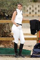 VALENCIA, ESPANHA, 05 DE MAIO 2012 - GP GLOBAL CHAMPIONS HORSE TOUR -  Athina Onasis durante o GP Global Champions Hourse Tour em Valencia na Espanha, ontem sexta-feira, dia 4. (FOTO: RGPNT / ALFAQUI / BRAZIL PHOTO PRESS).
