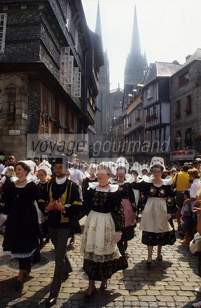 Europe/France/Bretagne/29/Finistère/Quimper : Fête des Cornouailles