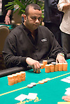 Mark Seif reacts to having his opponant suck out on him during a big pot.