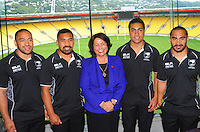 141114 Rugby League - NZRL Partnership Announcement