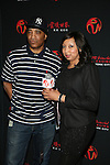 Marly Marl and Resorts World Casino New York City's Director of Public Relations & Community Development Michelle Stoddart at RESORTS WORLD CASINO TO HOST LEGENDS OF HIP HOP CONCERT FEATURING  NAUGHTY BY NATURE, DJ SCRIBBLE, KURTIS BLOW, BLACK SHEEP, DJ KOOL AND MARLEY MARL, QUEENS NY