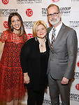 Lori Fineman, Mary-Mitchell Campbell and Jack Cummings III attends the Transport Group Theatre Company 'A Toast to the Artist - An Evening with Mary-Mitchell Campbell & Friends'  at The The Times Center on February 6, 2017 in New York City.