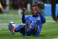 Claude Adjapong of Italy reacts during international friendly match between Italy U21 and Croatia U21 at stadio Benito Stirpe, Frosinone, March 25, 2019 <br /> Photo Andrea Staccioli / Insidefoto