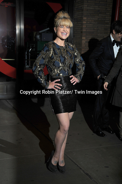 Kelly Osbourne attending The Glamour Magazine 20th Annual Women of the Year on November 8, 2010 at Carnegie Hall in New York City.
